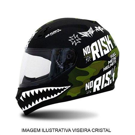 Capacete Norisk FF391 Ride Hard Green Camuflado