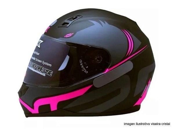 Capacete Norisk FF391 Squalo Matte Black Pink