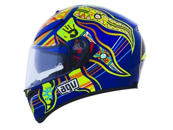 Capacete AGV Replica K3  Five Continents
