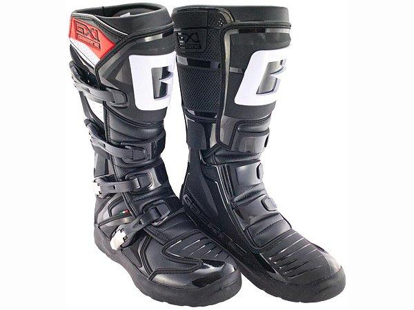 Bota Gaerne Gx1 Evo Black Semi Articulada