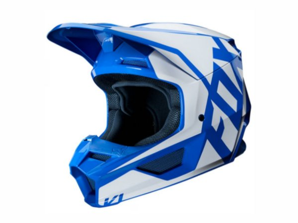 Capacete Fox Mx V1 Mvrs Prix Blue
