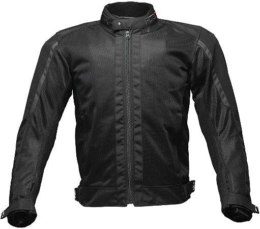 Jaqueta Forza City Rider Summer Black Dark Grey