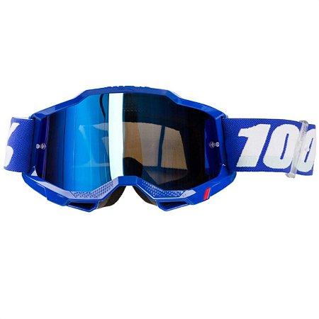 ÓCULOS 100% ACCURI 2 BLUE  LENTE EXTRA
