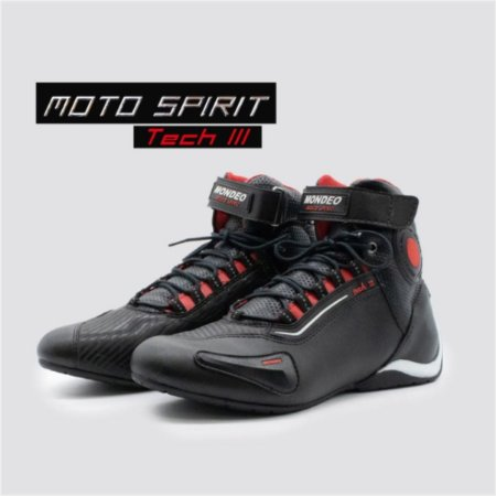 BOTA MONDEO MASCULINA MOTO SPIRIT TECH 3
