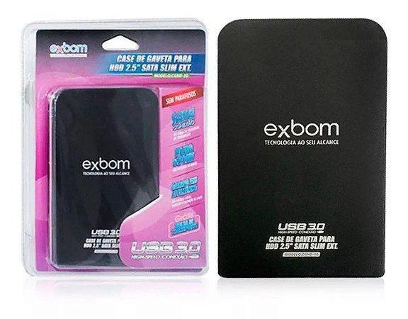 Case P/ HD Externo Sata 2.5 USB 3.0   CGHD-30
