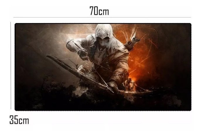 Mouse Pad Gamer Extra Grande (Assassino) - MP-7035C06