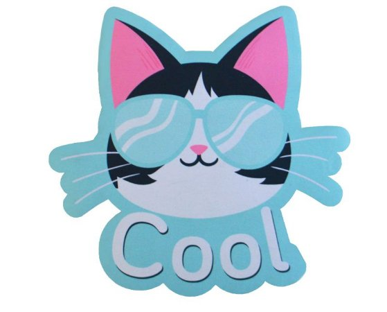 Mousepad Com Imã Geladeira Cool Colorfun Decorativo
