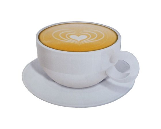 Mousepad Com Imã Geladeira Coffee Colorfun Decorativo
