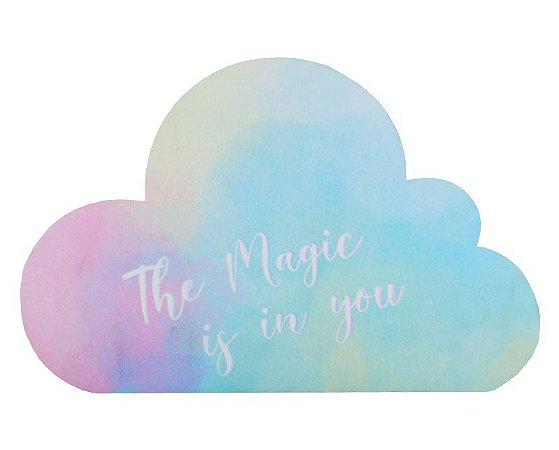 Mousepad Com Imã Geladeira Nuvem Colorfun Decorativo