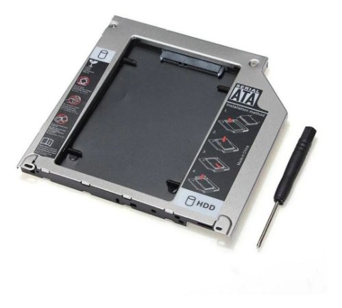 Case Gaveta Adaptador HD Notebook Sata Caddy 12,7MM