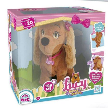 cachorrinha lucy pet inteligente português multikids
