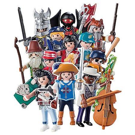 Playmobil Coleção Completa Com 12 Bonecos Da Série 16