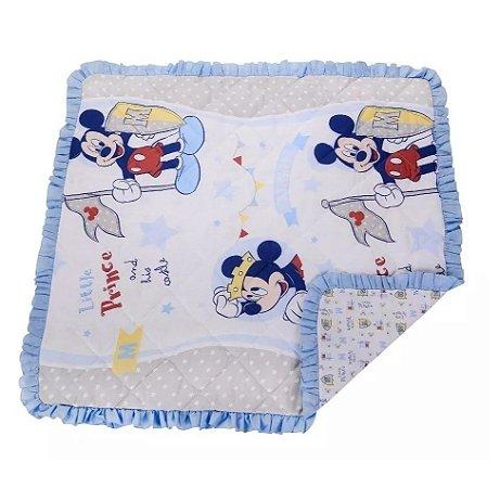 Bebê Manta Matelada Recém Nascido Enxoval Disney Mickey