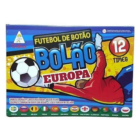 Futebol De Botão Bolão Gulliver 12 Seleções Europa