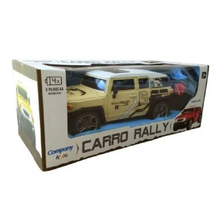 caminhonete carrinho controle remoto sem fio rally bege