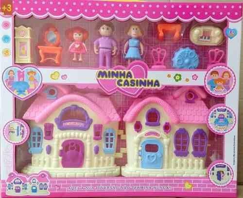 Conjunto Sweet Home Casinha De Boneca