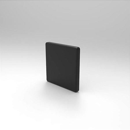 Capa de Fechamento Frontal Quadrada - Preta