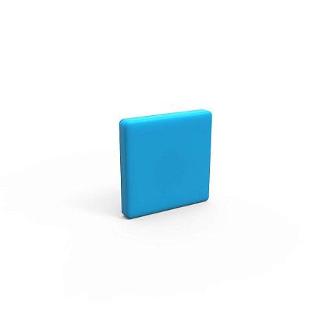 Capa de Fechamento Frontal Quadrada - Azul