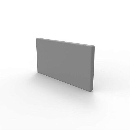 Capa de Fechamento Frontal Retangular - Cinza