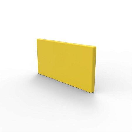 Capa de Fechamento Frontal Retangular - Amarela