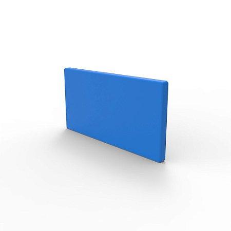 Capa de Fechamento Frontal Retangular - Azul
