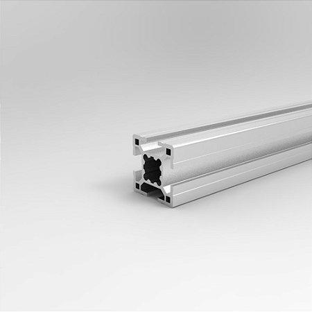 Perfil Estrutural em Alumínio 30x30 Básico - Canal 8