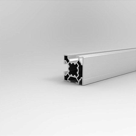 Perfil Estrutural em Alumínio 30x30 Básico de Face - Canal 8