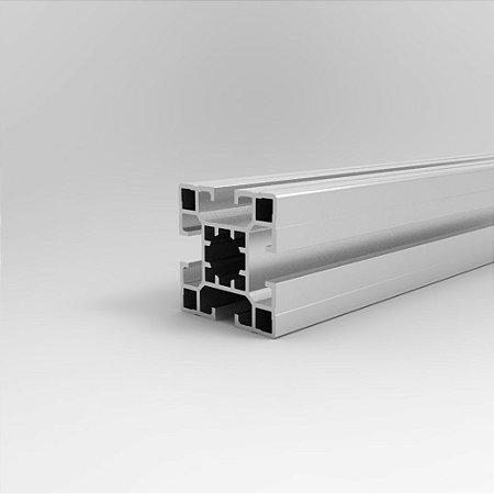 Perfil Estrutural em Alumínio 40x40 Leve - Canal 8