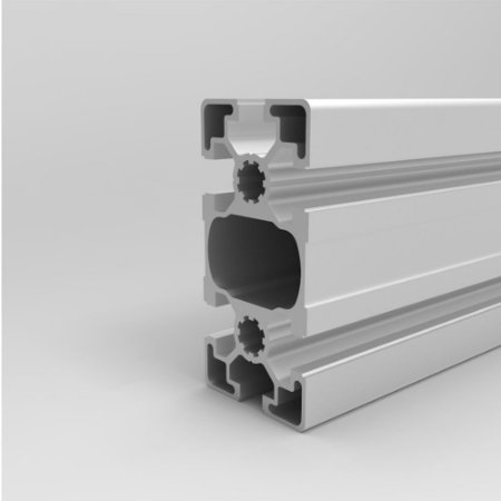 Perfil Estrutural em Alumínio 45x90 Básico - Canal 10