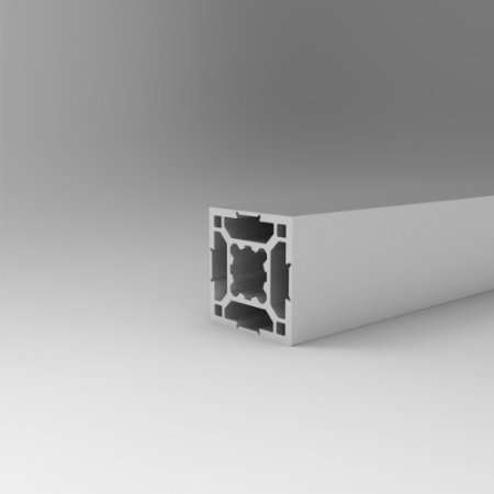 Perfil Estrutural em Alumínio 30x30 Básico Fechado - Canal 8