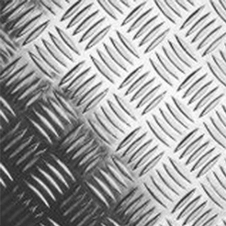 Chapa Xadrez em Alumínio - Esp. 2,2mm