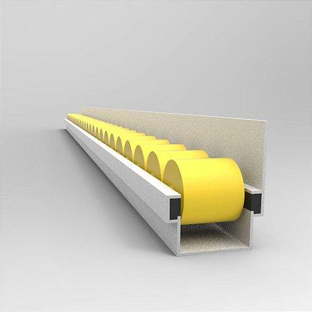 Trilho Flow Rack Modelo com Aba