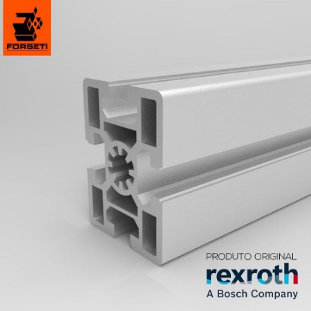 Perfil Estrutural em Alumínio 45x60 Básico Rexroth - Canal 10