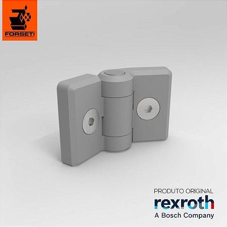 Dobradiça Plástica Com Fixadores - Par - 30x30 - Rexroth