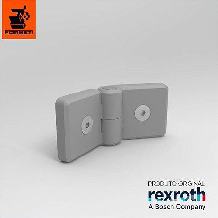 Dobradiça Plástica Com Fixadores - Par - 45x45 - Rexroth