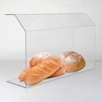 Display e Barreira de Proteção para Alimentos