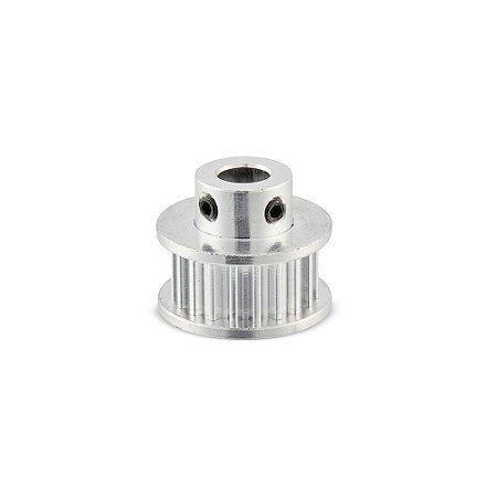 Polia Sincronizadora GT2 em Alumínio com 30 dentes