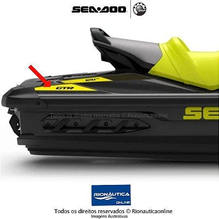 KIT de Adesivo traseiro GTR Direito e Esquerdo Amarelo Neon 219905620 219905621