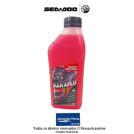 Liquido de Arrefecimento Orgânico Solucao Arrefecedora para motores Rotax Sea Doo -1L Long Life PARAFLU