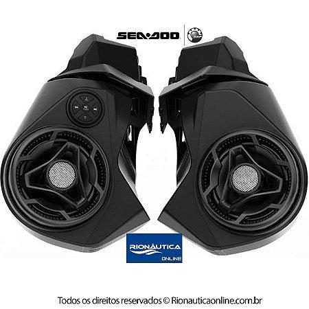 Sistema de Som Bluetooth RXT-X GTX WAKE PRO FISH PRO 2018 e posteriores Sea Doo 295100711