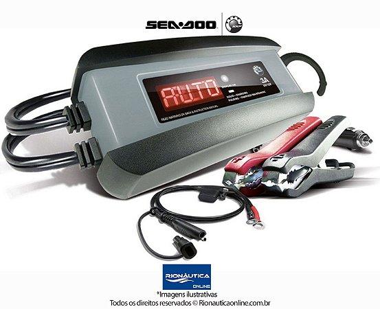 Carregador Automatico Mantenedor de Bateria 3 amp Original Sea-Doo 715005061