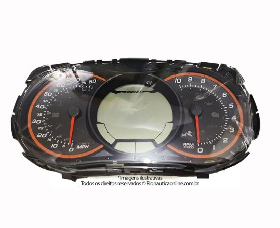 Painel Digital de Instrumentos LCD Sea Doo RXT 260 278002763