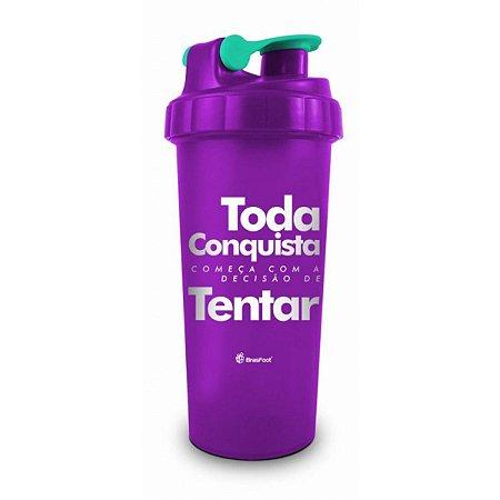 Coqueteleira 600Ml - Toda Conquista - Brasfoot