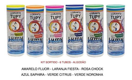 CORANTE P/ ROUPA ALGODAO 45g TUPY