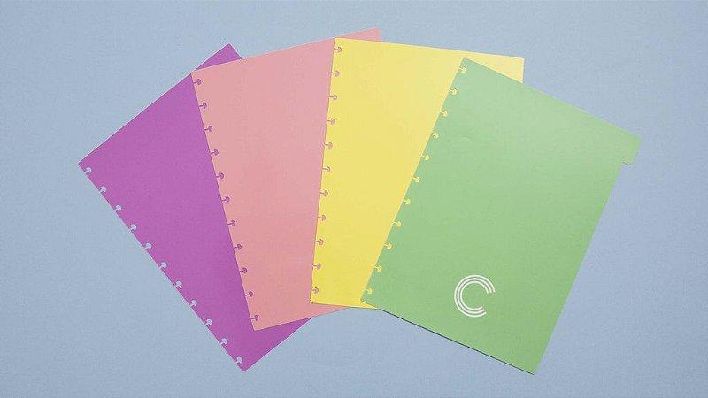 Divisorias Medio Pastel 4 Unidades Caderno Inteligente