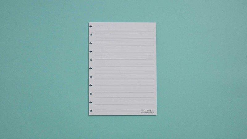 Refil Grande Pautado 30 Folhas 120g Caderno Inteligente