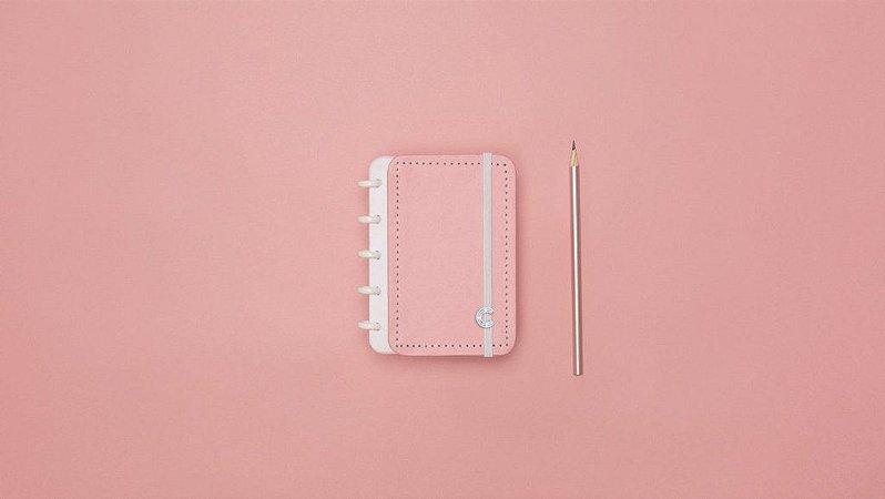 Caderno Inteligente Inteligine Rose Pastel 50 Folhas 120g
