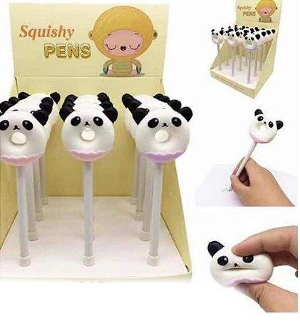 Caneta Squishy Anti-Stress Panda