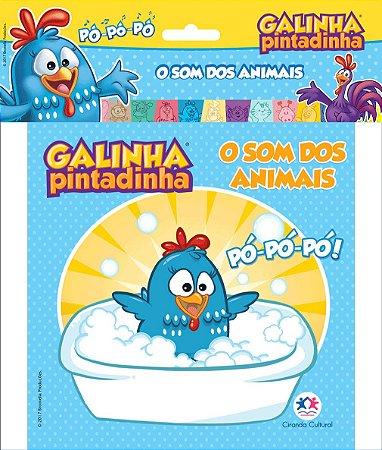 Livro Banho Galinha Pintadinha - O Som dos Animais - Ciranda Cultural
