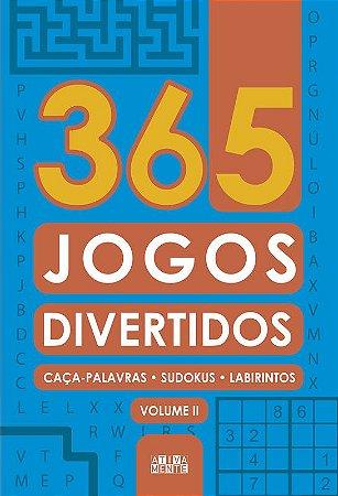 Livro 365 Jogos Divertidos - Volume II - Ciranda Cultural